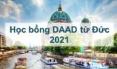 Thông báo học bổng nghiên cứu tại Đức của DAAD năm 2021