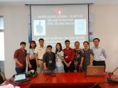Buổi nghiệm thu đề tài nghiên cứu khoa học của sinh viên ngành Quản trị kinh doanh