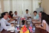Làm việc với Hiệp hội Giáo dục & Nhân viên CTXH- LB Nga
