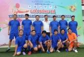 Công đoàn Cơ sở II tham dự giải Bóng đá Viên chức – Người lao động của khối thi đua số 2 năm 2019