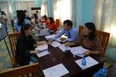 Hơn 1000 tân sinh viên ULSA2 K2019 hoàn tất thủ tục nhập học