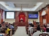 Nghiệp vụ công tác xã hội trong chăm sóc sức khỏe tâm thần, rối nhiễu tâm trí tỉnh Tiền Giang năm 2020