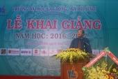 TRƯỜNG ĐẠI HỌC LAO ĐỘNG - XÃ HỘI (CSII) TP.HCM KHAI GIẢNG NĂM HỌC 2016 -2017