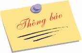 Danh sách thi Tin học CB1 Khóa 2018 và Khóa cũ